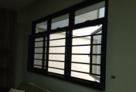 3 panel window grille