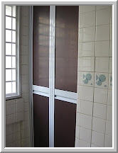 Bi-Fold Bathroom Door