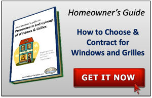 Buying guide for windows and grilles