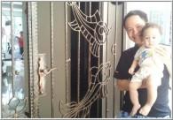 Wrought Iron Gate in Condo