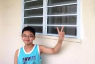 louvre window in hdb corridor