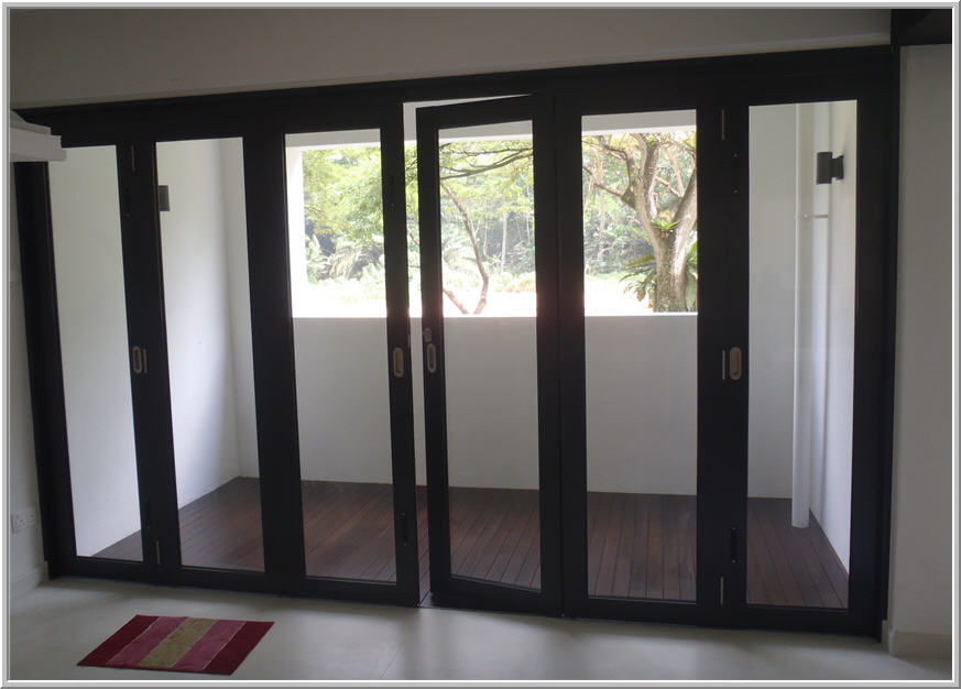 Bi Fold Glass Interior Doors