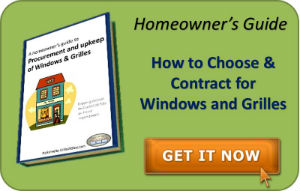Contracting advice for Windows and Grilles