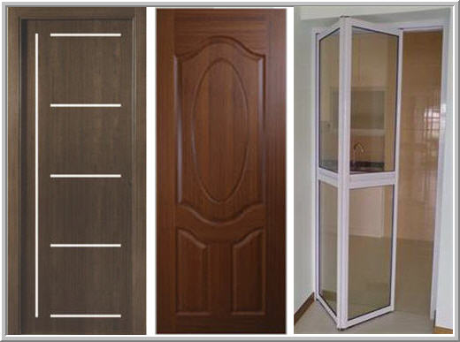 Entrance doors for Types of doors
