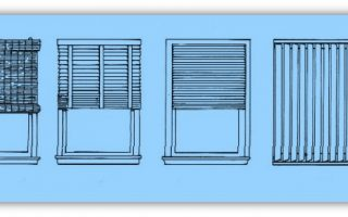 choice of blinds for windows