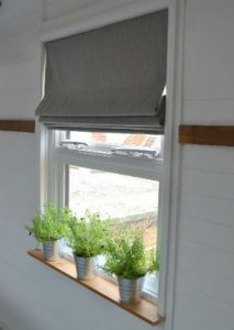 Pleated blinds for window