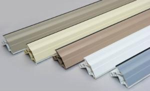 colour of aluminium grilles